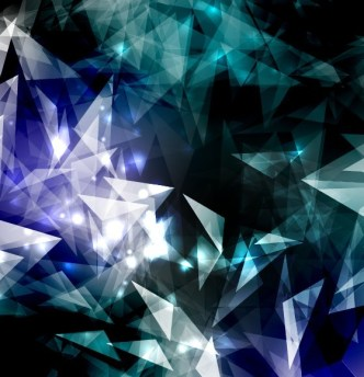 Modern Abstract Triangles Background Vector 05
