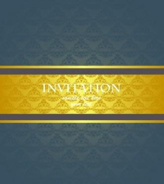 Noble and Elegant Invitation Card 02