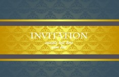 Noble and Elegant Invitation Card 02