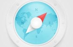 PSD Safari Icon