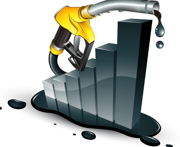 Petrol Increase Vector Material