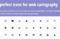 Pixel-Perfect Icons For Web Cartography - Maki