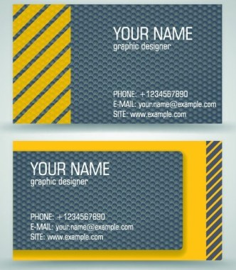 Simple Business Card Vector 02