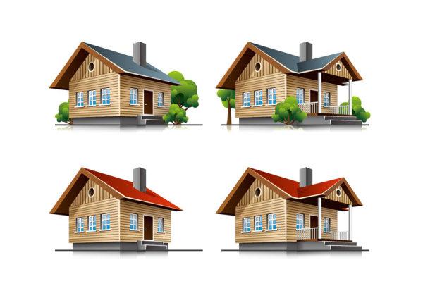Three-dimensional Building Model 03