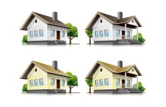 Three-dimensional Building Model 04