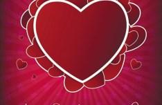 Valentine's Day Vector Background 01