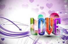 Valentine's Day Vector Poster Background 04