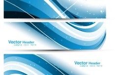 Vector Abstract Business Header 01