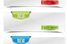 Vector Buy Now Banner 01
