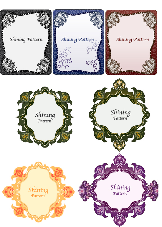 Vintage Pattern Vector Border