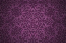 Violet Classical Pattern Background 1