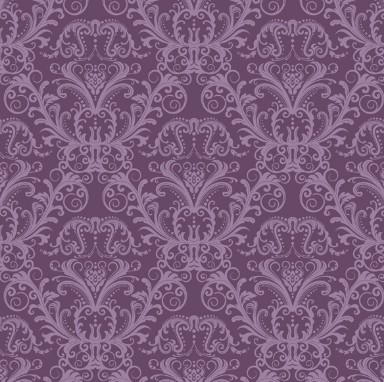 Violet Classical Pattern Background 2