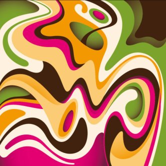 abstract dynamic flow line 3