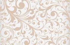 Khaki Flourish Vector Background