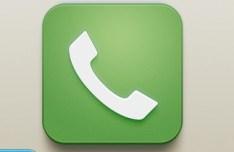 iOS Phone Icon PSD