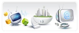 HI-Tech & Business Concept Vector Material 06