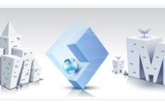 HI-Tech & Business Concept Vector Material 09