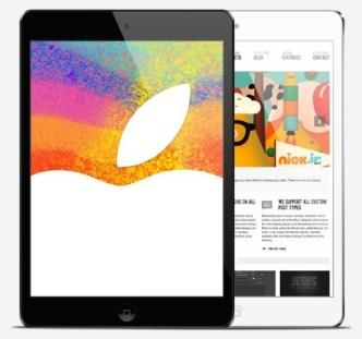 iPad Mini Mockups Layered PSD