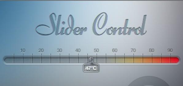Slider Controller PSD