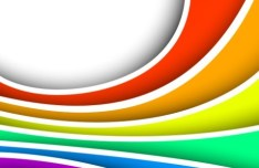 Colorful Waves Background Vector