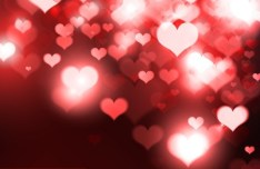 Elegant Happy Valentine's Day Background Vector 02