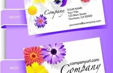 Stylish Business Card Design Templates Vector 02