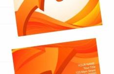 Stylish Business Card Design Templates Vector 03