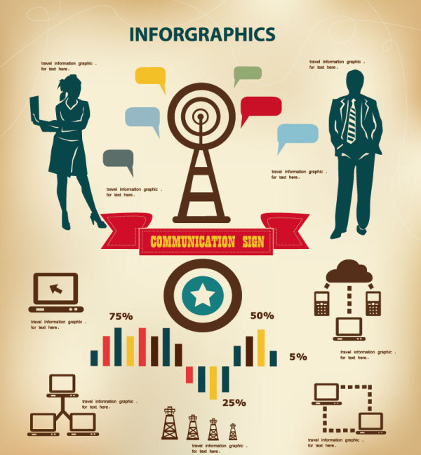 Vector Business Infographic Template 03