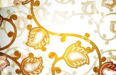 Vector Floral Patterns Background 02