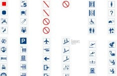 Set Of Vector Public Icons