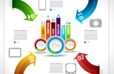 Vector Information Analysis Template For Infographic 09