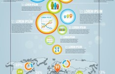 Creative 3D Infographic Template Vector 01