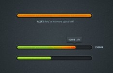 Download Progreess Bar PSD