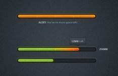Download Progreess Bar PSD
