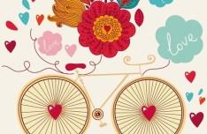 Hand Drawn Wedding Invitation Card Design Template 03