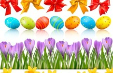 Happy Easter Design Elements Vector 01