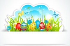 Happy Easter Design Elements Vector 04