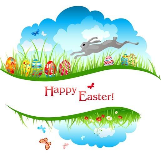 Happy Easter Design Elements Vector 06