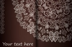 High Quality Vintage Floral Pattern Vector 05