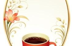 Vector Retro Coffee Shop Menu Cover Design 01