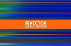Colored Horizontal Stripes Background Vector 03