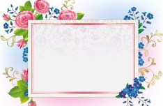 Colorful Vector Floral Banners 01