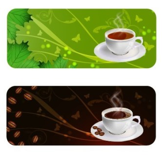 Vector Coffee Business Card Design Template