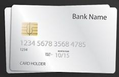 Shiny Credit Card Template PSD