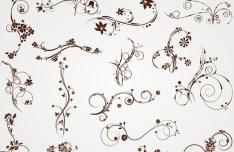 Vector Elegant Floral Patterns 03