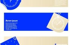 Vector Modern Banners Original Design 04