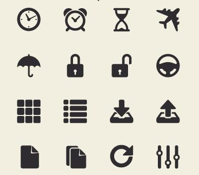 App Tab Bar Icon Set (Retina Ready) 02