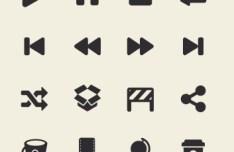 App Tab Bar Icon Set (Retina Ready) 03