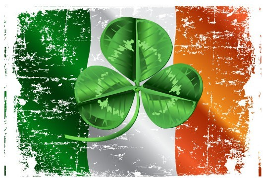 St.Patrick's Day Shamrock Template Vector 04