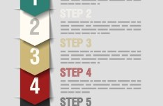 Vector Origami Infographic Option Labels 02